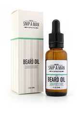 SNIP A MAN Produkte Beard Oil Grapefruit Mint Bartpflege 30.0 ml