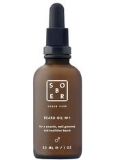Sober Produkte Beardoil No. 1 Bartpflege 30.0 ml
