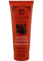 Geo. F. Trumper Produkte Spanish Leather Soft Shaving Cream Seife 75.0 g
