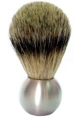 Golddachs Produkte Rasierpinsel Aluminium Kugelblitz Zupfhaar Pinsel 1.0 pieces