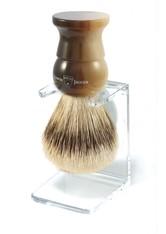 EDWIN JAGGER Produkte Rasierpinsel Silver Tip Fibre, Griff helles Horn Rasierpinsel 1.0 pieces