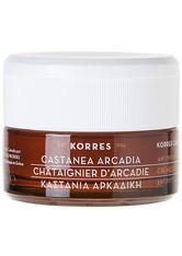 Korres Gesichtspflege Anti-Aging Castanea Arcadia Antiwrinkle & Firming Day Cream Für trockene Haut 40 ml
