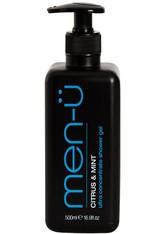 men-ü Produkte Citrus & Mint Ultra Concentrate Shower Gel Duschgel 500.0 ml