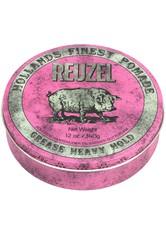 REUZEL - Reuzel Haarpomade »Pomade Grease Heavy Hold«, starker Halt & mittlerer Glanz, 340 g - Haarwachs & Pomade