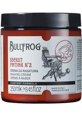 Bullfrog Produkte Secret Potion No 2 Shaving Cream Rasierer 250.0 ml
