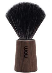 nom Produkte Rasierpinsel THEO Black Fibre Dark Ash Pinsel 1.0 pieces