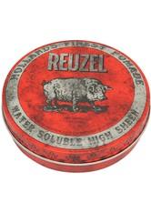 REUZEL - Reuzel Pomade Red Water Soluble High Sheen - HAARWACHS & POMADE