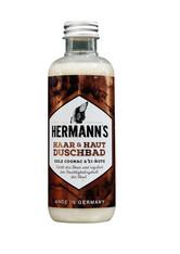 HERMANN'S - Hermann's Haar & Haut Duschbad Cognac Ei 250 ml - DUSCHEN
