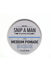 SNIP A MAN - Snip a Man Medium Pomade 100 g - KÖRPERCREME & ÖLE