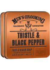 THE SCOTTISH FINE SOAP COMPANY - Thistle & Black Pepper Face & Beard Soap - BARTPFLEGE