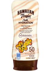 Hawaiian Tropic Sonnenschutz Silk Hydration Protective Sun Lotion LSF 50  180.0 ml