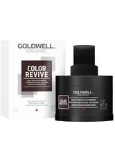 GOLDWELL - Goldwell Dualsenses Color Revive Ansatzkaschierpuder Dunkelbraun bis Schwarz Kaschiert Grau, Kontraste fallen weniger auf, 3,7 g - Haarpuder