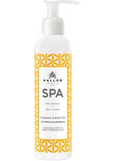 Kallos SPA Massage Oil 200 ml