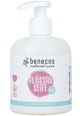 Benecos Natural Flüssigseife 3in1 Fresh 300 ml