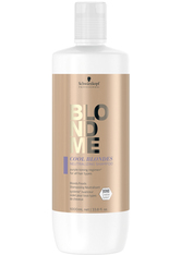 Schwarzkopf BlondMe Tone Enhancing Bonding Shampoo Cool Blondes Haarshampoo  1000 ml