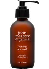 John Masters Organics - Foaming Face Wash With Rose & Linden Flower - Reinigungsbalsam