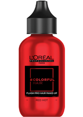 L'Oreal Professionnel Haarfarben & Tönungen Colorful Hair Flash Pro Hair Make-up Red Hot 60 ml
