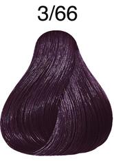 Wella Professionals Color Fresh 3/66 Dunkelbraun Violett-Intensiv Professionelle Haartönung 75 ml