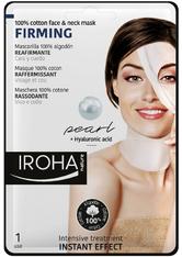 Iroha Gesichts-Vliesmasken Firming 100% Cotton Face &amp Neck Mask 1 Anwendungen