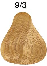 Wella Professionals Color Fresh 9/3 Lichtblond Gold Professionelle Haartönung 75 ml