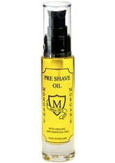 MORGAN'S - Morgan's Rasieröl »Pre Shave Oil«, bereitet die Haut auf die Rasur vor, gelb, 50 ml, gelb - PRE SHAVE