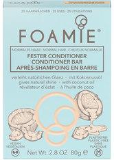 Foamie Fester Conditioner Shake Your Coconuts (für normales Haar, verleiht natürlichen Glanz) 80 g