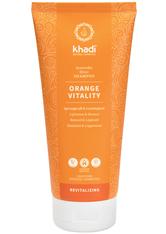 Khadi Naturkosmetik Produkte Shampoo - Orange Vitality 200ml Haarshampoo 200.0 ml