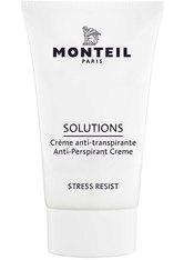 Monteil Produkte Solutions - Anti Perspirant Creme 40ml Deodorant Creme 40.0 ml