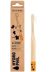 HYDROPHIL Nachhaltige Kinder-Zahnbürste Maus - Orange - Extra Weich Zahnbürste 1 Stk