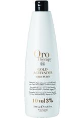 Fanola Farbveränderung Haarfarbe und Haartönung Oro Therapy Oro Puro Gold Activator 3% 1000 ml