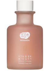 WHAMISA Produkte Organic Flowers Toner Deep Rich 300ml Gesichtswasser 300.0 ml