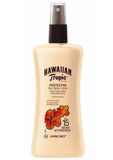 HAWAIIAN TROPIC - Hawaiian Tropic Satin Protection Sun Spray Lotion (SPF15) 200 ml - Sonnencreme