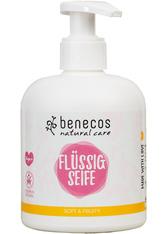 benecos Produkte Flüssigseife - soft & fruity 300ml Seife 300.0 ml