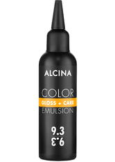 Alcina Color Gloss+Care Emulsion Haarfarbe 9.3 Lichtblond-Gold Haarfarbe 100 ml