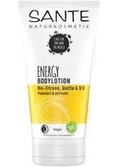 Sante Bodylotion Energy Bodylotion Bio-Zitrone, Quitte & Q10 Bodylotion 150.0 ml