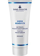Sans Soucis Moisture Aqua Benefits getönte Tagespflege Bronze 40 ml Getönte Gesichtscreme