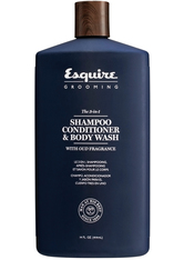 ESQUIRE - Esquire Grooming 3-in-1 Shampoo, Conditioner, Bodywash 414 ml - SHAMPOO