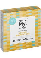 RESCUE MY HAIR - Rescue My. Hair Volume Shampoo Bar 80 g - SHAMPOO & CONDITIONER