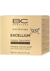 Schwarzkopf Professional Haarkur »BC Bonacure Excellium Taming Treatment«, 1-tlg., Für widerspenstiges, reifes Haar, 150 ml