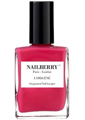 Nailberry Nägel Nagellack L'Oxygéné Oxygenated Nail Lacquer Pink Berry 15 ml