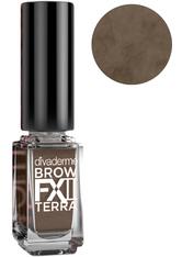 Divaderme Brow FX II Terra Augenbrauenfarbe Ash Blonde 4 ml