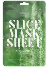 KOCOSTAR - Kocostar Gesichtspflege Masken Cucumber Slice Mask Sheet 20 ml - Tuchmasken