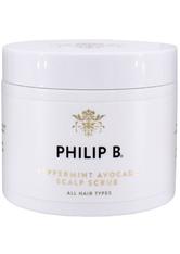 Philip B Kopfhaut Peppermint Avocado Scalp Scrub Kopfhautpeeling 236.0 ml