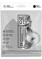 NEQI Mundschutz & Masken Gesichtsmaske Schwarz M - L Maske 1.0 pieces