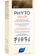 Phyto Phytocolor 8 Helles Blond Pflanzliche Haarcoloration