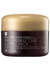 MIZON - Mizon Maske Mizon Maske Snail Wrinkle Care Sleeping Pack Anti-Aging-Maske 80.0 ml - Sleep Masks