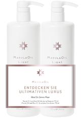 MARULA OIL - MarulaOil Save Big Duo Light - Haarpflegesets