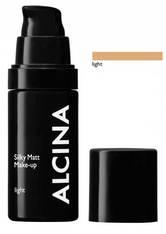 Alcina Silky Matt Make-up 30 ml Light Flüssige Foundation