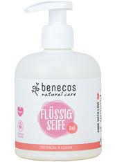 Benecos Natural Flüssigseife 3in1 Tropical 300 ml