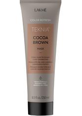 Lakmé Refresh Teknia  Refresh Cocoa Brown Mask Maske 250.0 ml